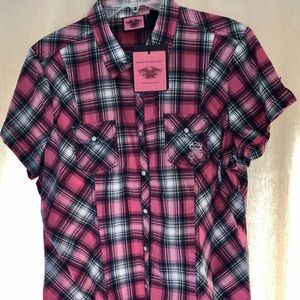 Harley Davidson Pink Label Collection top